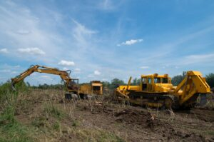 land clearing for commercial construction